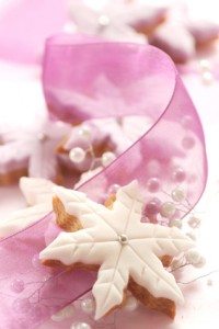 White Christmas Biscuit