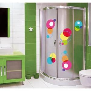 Stickers jusque sous la douche - Decoration des douches ...