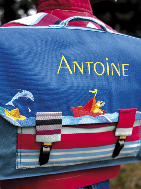 Le cartable d'Antoine