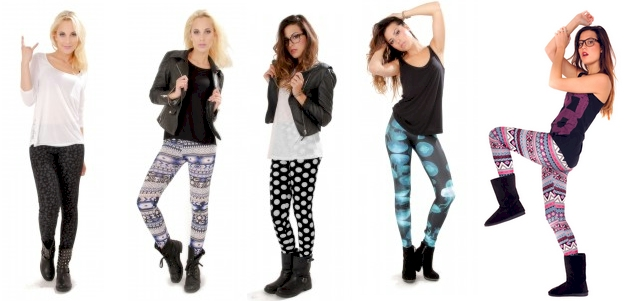 leggings fantaisie