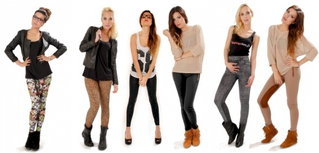 Femmes en leggings