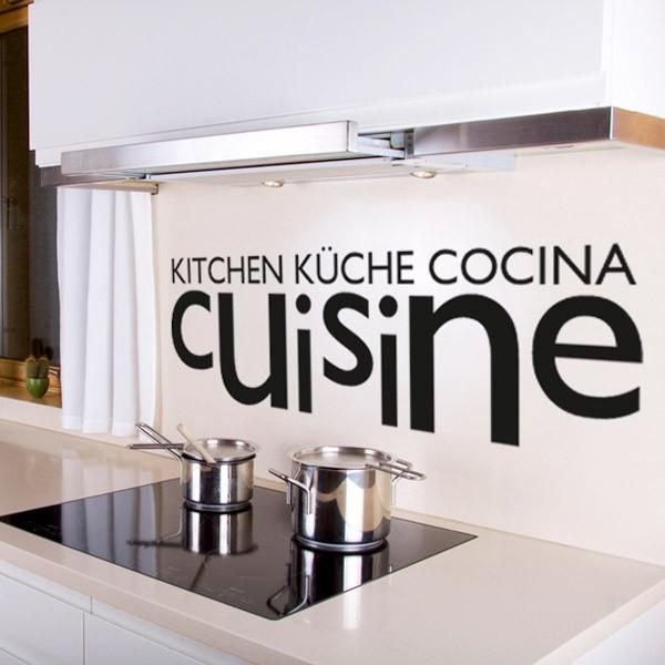 Sticker deco cuisine