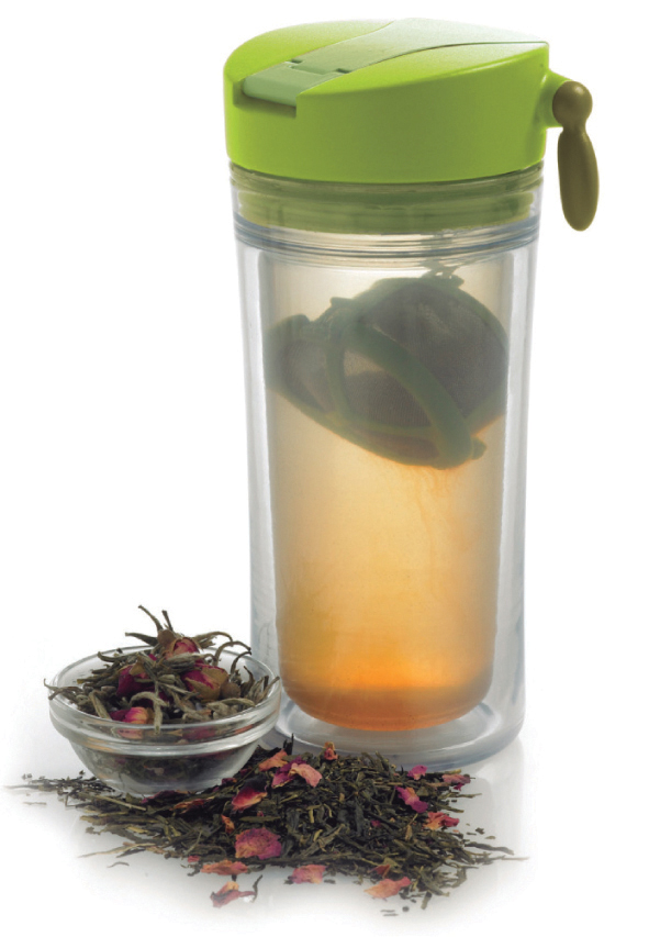 Mug infuseur en plastique alimentaire